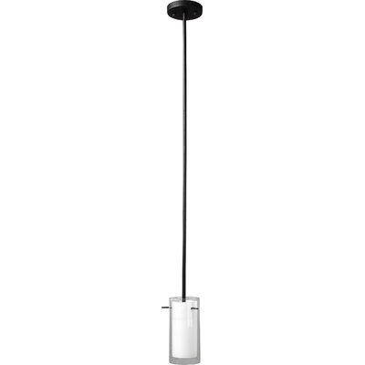 Joseph 1-Light Mini Pendant Finish: Black