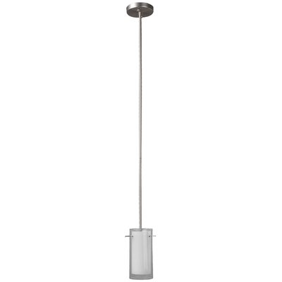 Joseph 1-Light Mini Pendant Finish: Satin Nickel