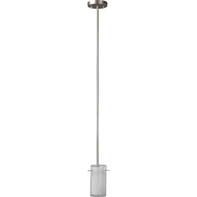 Christopher 1-Light Mini Pendant Finish: Satin Nickel