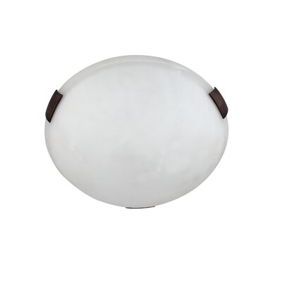 Alexander 2-Light Flush Mount Finish: Oil Rubbed Bronze
