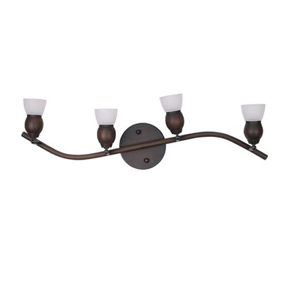 Bentley 4-Light Full Track Lighting Kit Finish: Oil Rubbed Bronze