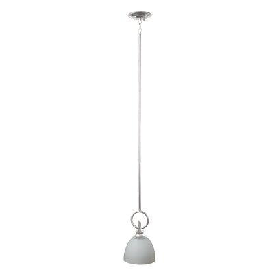 Kelsey 1-Light Mini Pendant Finish: Brushed Pewter