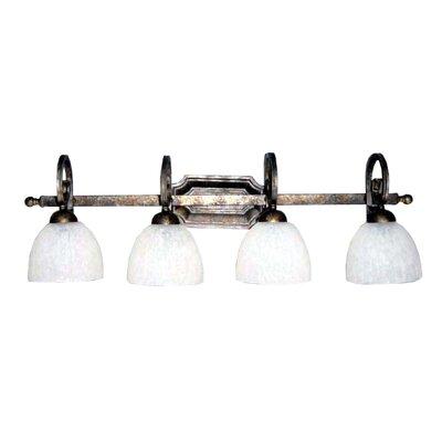 Whitfield Lighting Carla 4 Light Bathroom Vanity Light