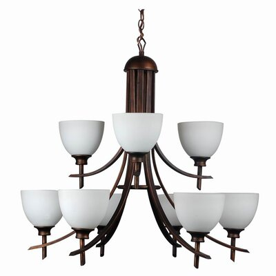 Kelsey 9-Light Candle Style Finish: Oil Rubbed Bronze
