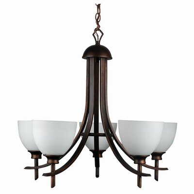 Kelsey 5-Light Candle Style Finish: Oil Rubbed Bronze