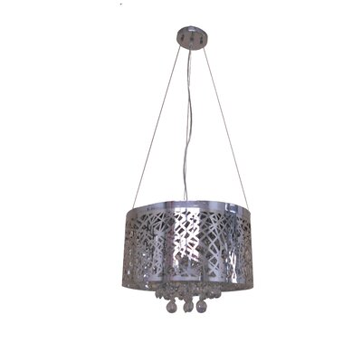 Aileena 6-Light Drum Chandelier