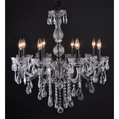 Jaden 8-Light Crystal Chandelier