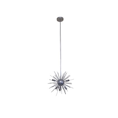 Jennifer 6-Light Sputnik Chandelier