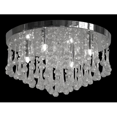 Mindy 3-Light Flush Mount
