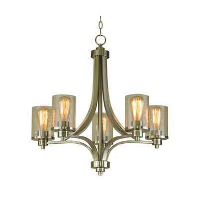 Iris 5-Light Candle-Style Chandelier