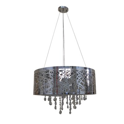 Aileena 9-Light Drum Chandelier