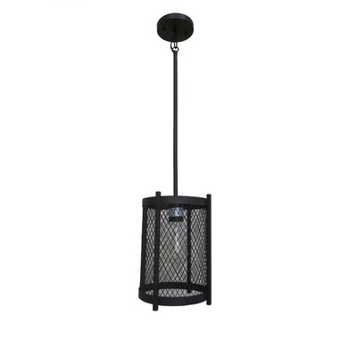 Glen 1-Light Foyer Pendant Finish: Ebony Bronze