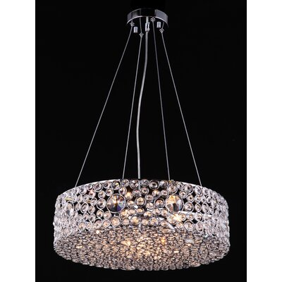 Decla 6-Light Drum Pendant