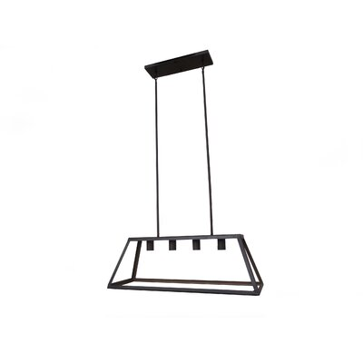 Murray 4-Light Kitchen Island Pendant Finish: Oil Rubbed Bronze