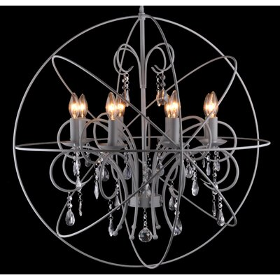 Flaxton 8-Light Candle-Style Chandelier