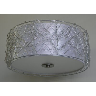 Irene 17.4 Metal Drum Pendant Shade