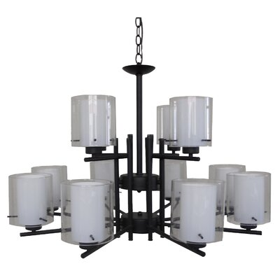 Dominic 12-Light Candle-Style Chandelier