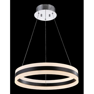 Rasine 1-Light Drum Pendant