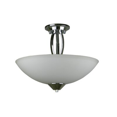 Anna 3-Light Inverted Pendant Finish: Chrome