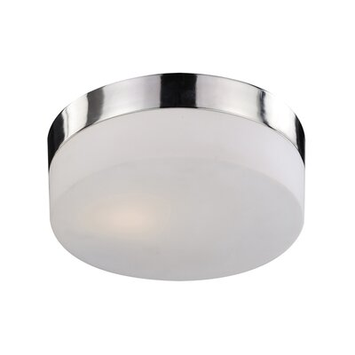 Felix 2-Light Flush Mount Finish: Chrome