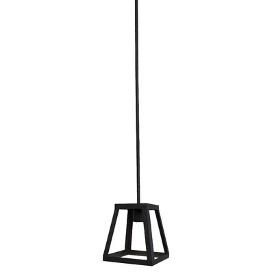 Murray 1-Light Foyer Pendant Finish: Black