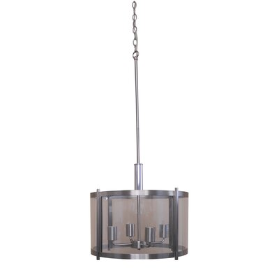 Alcocer 4-Light Drum Pendant