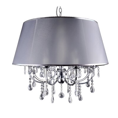 Sylvia 8-Light Crystal Chandelier