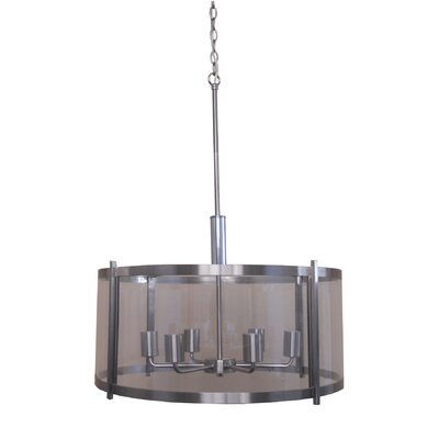Alcocer 6-Light Drum Chandelier