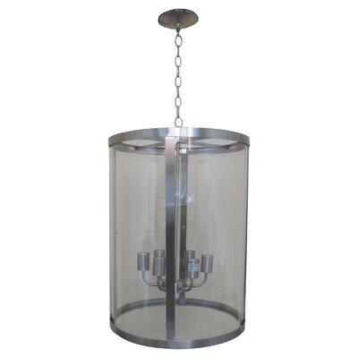 Alegria Glass 6-Light Drum Pendant