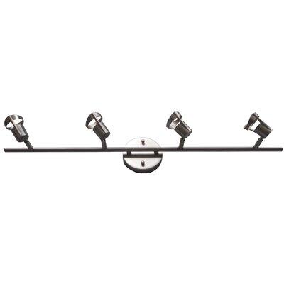 Charles 4-Light Full Track Lighting Kit Finish: Satin Nickel