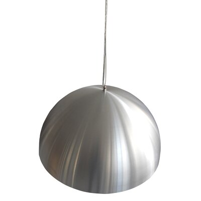 3-Light Dome Inverted Pendant