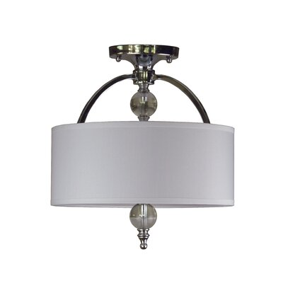 Brooklana 2-Light Semi Flush Mount