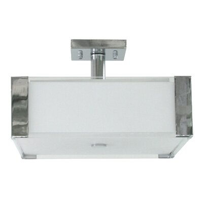 Judd 3-Light Semi Flush Mount