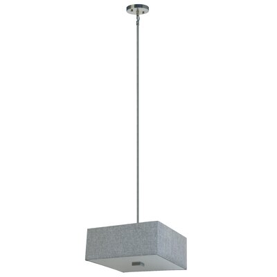 Juhasz Square 3-Light Drum Pendant