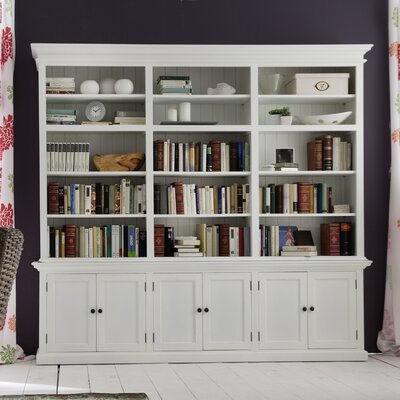 Halifax 87 Triple Bay Bookcase Product Image 730