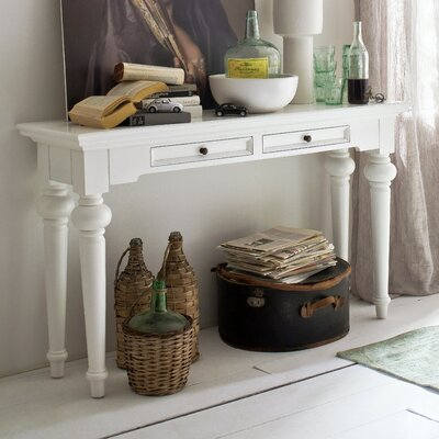 Westmont Console Table Top Finish: White