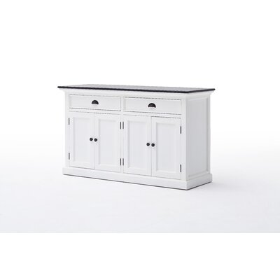 Halifax Contrast Sideboard Top Color: Black