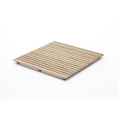 Le Click Shower Mat Size: 1.18 H x 24 W x 24 D