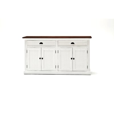 Halifax Contrast Buffet Table Top Finish: Brown