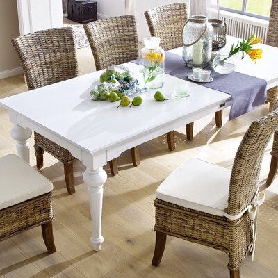 Westmont 94 Dining Table Top Finish: White