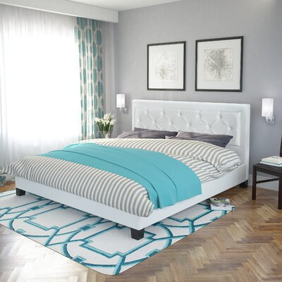 San Antonio Upholstered Platform Bed Size: King