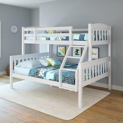 Apollo Twin over Full Bunk Bed Color: Snow White
