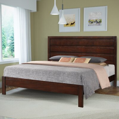 Lakeport Panel Bed Size: King
