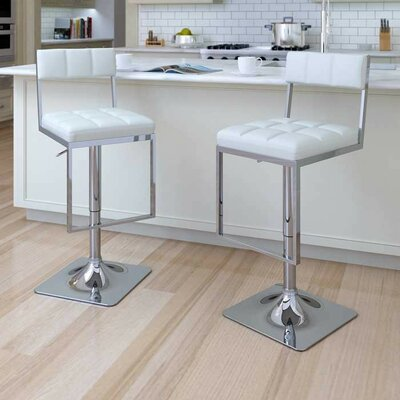 Frasure Adjustable Height Swivel Bar Stool