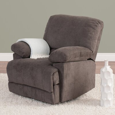 Condron Recliner Upholstery: Gray