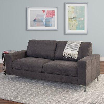 Hermia Chenille Sofa Upholstery: Gray
