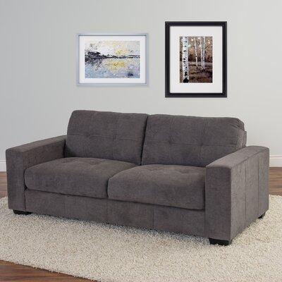 Kaye Chenille Sofa Upholstery: Gray