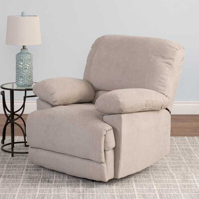 Condron Recliner Upholstery: Beige