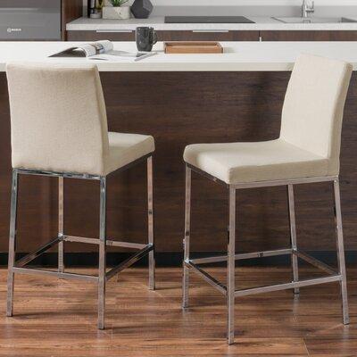 Onya Bar Stool Upholstery: Beige