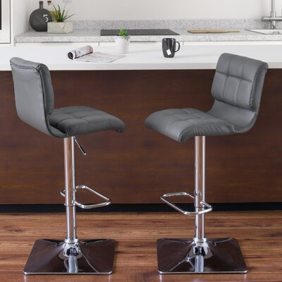 Crew Park Adjustable Height Swivel Bar Stool